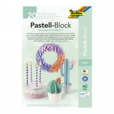 Tinted drawing paper and photo mounting board pastel