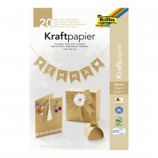 Kraft paper sheet block 20pcs