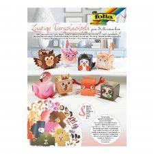 8pcs Animal Shaped Box DIY Kit