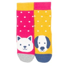 Pet pals grippy socks in organic cotton