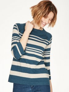 Sail La Vie Striped Wool Knit Jumper