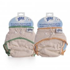 Organic cotton fitted diaper clothes