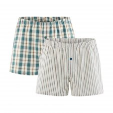 Keith men's boxer 2 pack in 100% Organic Cotton