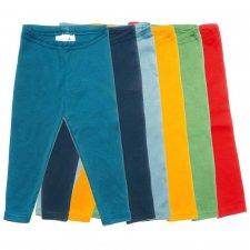 Girl's leggings in 100% organic cotton