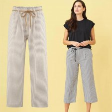 Kathleen Woman Trousers in Organic Cotton