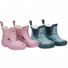 Celavi short wellies in natural rubber