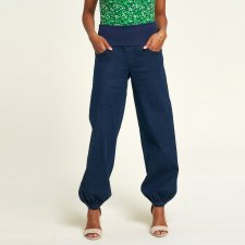 Baggy Jeans Pants with Elastic Band in Organic Cotton