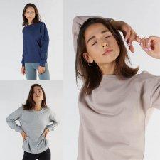 Women's Sport Sweatshirt in Organic Cotton and Tencel ™