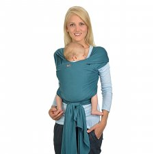 Elastic baby sling in organic cotton