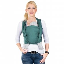 Baby sling Light Hamburg forest in organic cotton