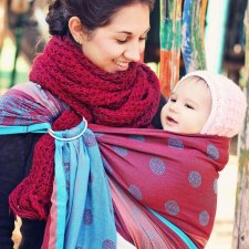 Ring-Sling Marrakesh in organic cotton