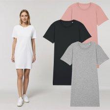 T-shirt dress in organic cotton