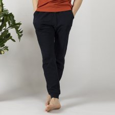 Men's sport and free time trousers in organic cotton