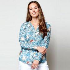 Hepworth Print Fair trade cotton Voile Shirt