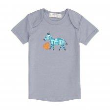 Baby T-Shirt Zebra in organic cotton