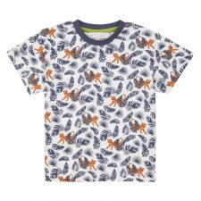 Colourful organic cotton Children's T-shirt in Tiger Print