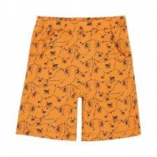 Children's organic cotton Jersey Monkey Printed Shorts