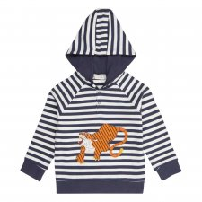 Children's organic cotton hoodie with Tigers