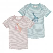 Baby T-Shirt Giraffe in organic cotton