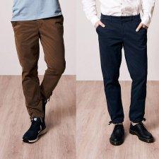 Micro-chino Trousers Man in organic cotton