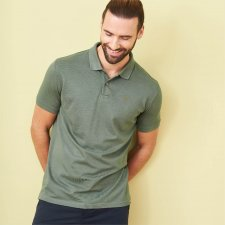 Polo classic shirt man in organic cotton and Bamboo