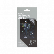 Satch reflective stickers for young cyclists