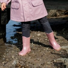 Celavi wellies basic in natural rubber