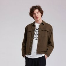 SKY GARDEN men's jacket in Organic Cotton