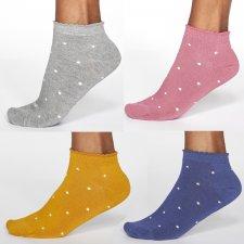 Tie Dye Bamboo Trainer Socks