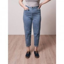 MOMS JEANS LYOCELL (TENCEL™) LADIES RECYCLED BLUE