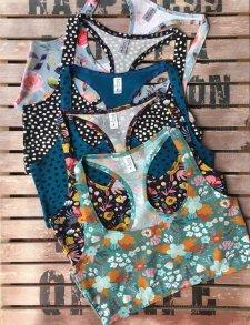 Colorio BRALETTES bikini in organic cotton
