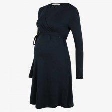 Crossed Nursing Dress in Tencel ™