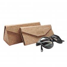 Glasses case in natural water repellent Cork