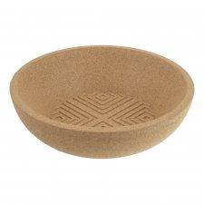 Bente bowl in pure natural cork