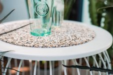 Centerpiece Trivet Ole and Jasper in pure recycled Cork