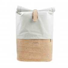 PONTICA backpack in Cork and Felt recycled from plastic bottles