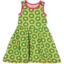 Dress no sleeve Calendula in organic cotton
