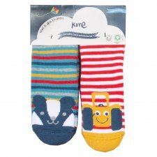 Non-slip socks in organic cotton