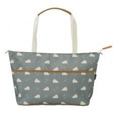 Nursery Bag Hedgehog for stroller in organic cotton