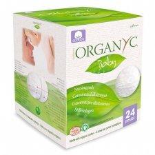 Nursing pads made with organic cotton - 24 pcs