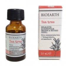 Olio essenziale Alimentare di Tea Tree Biologico Bioearth