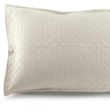 Onda pillow cover in organic cotton