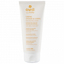 Organic Baby Face and Body Cream Without Perfume