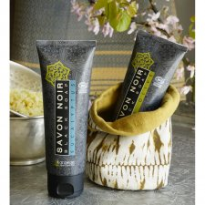 ORGANIC BLACK SOAP TUBE EUCALYPTUS