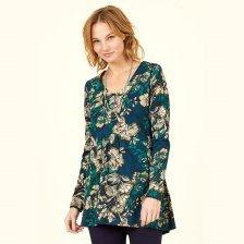 Organic Cotton Bold Floral Tunic