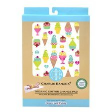 Charlie Banana organic cotton change pad Ice Cream