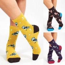 Organic Cotton Owl Socks