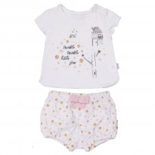 Organic cotton set Twinkle for babies
