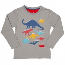 Organic cotton t-shirt World of dinos