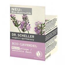 Organic Lavender night cream for sensitive skin-Dr. Scheller